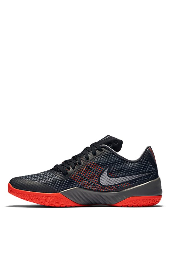 cfb00f9b56a Buy Nike Hyperlive Black   Metallic Silver Basketball Shoes for Men at Best  Price   Tata CLiQ