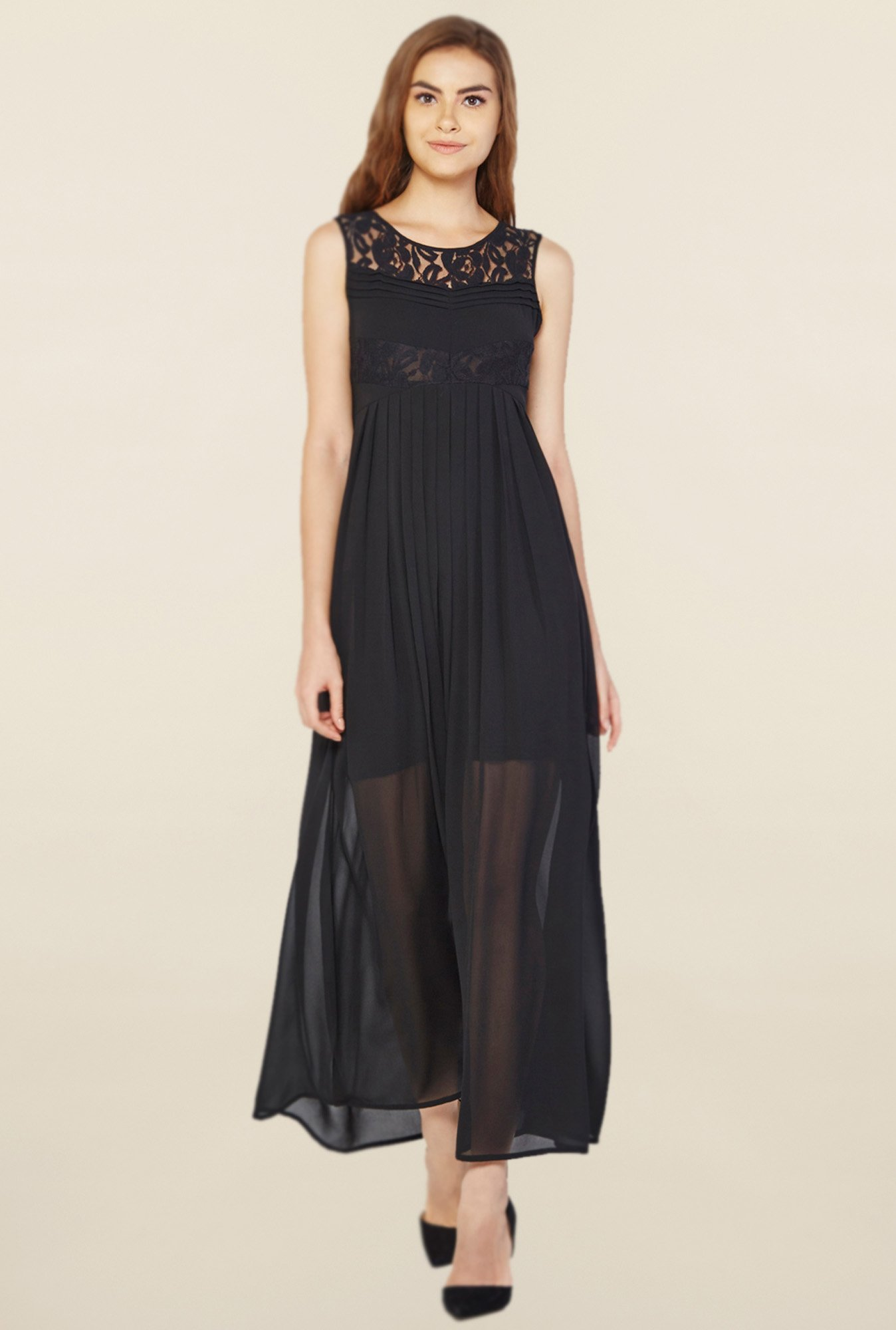 AND Black Lace Dress
