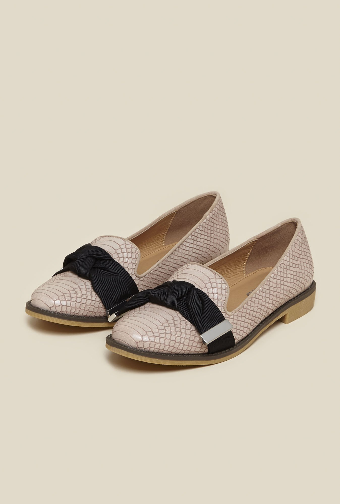Miss KG by Kurt Geiger Nude Casual Loafers