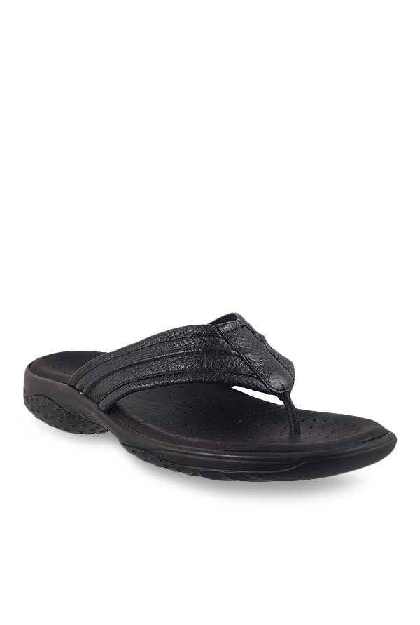 Bio-Foot by Metro Black Thong Sandals