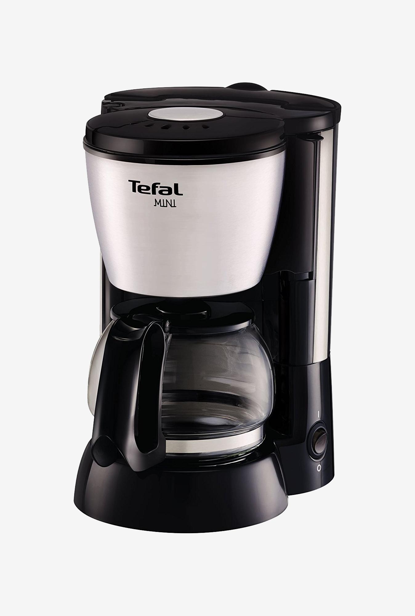 Tefal Recia Cm110 6 Cup Coffee Maker Black