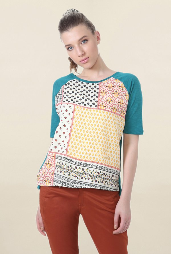 People Multicolor Printed Top