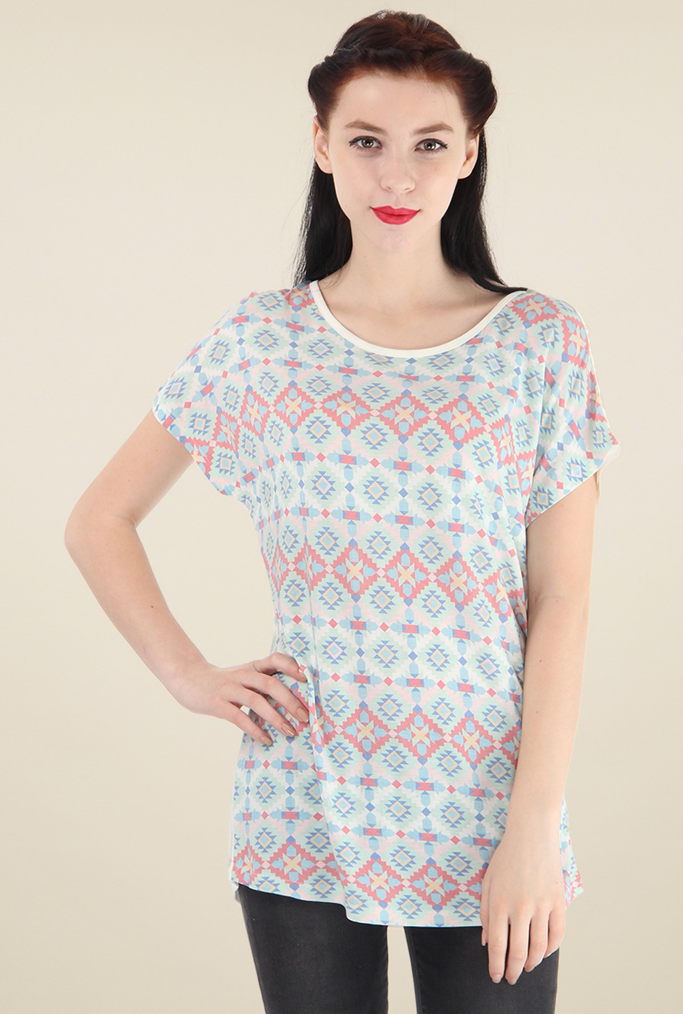 Pepe Jeans Multicolor Short Sleeves Top