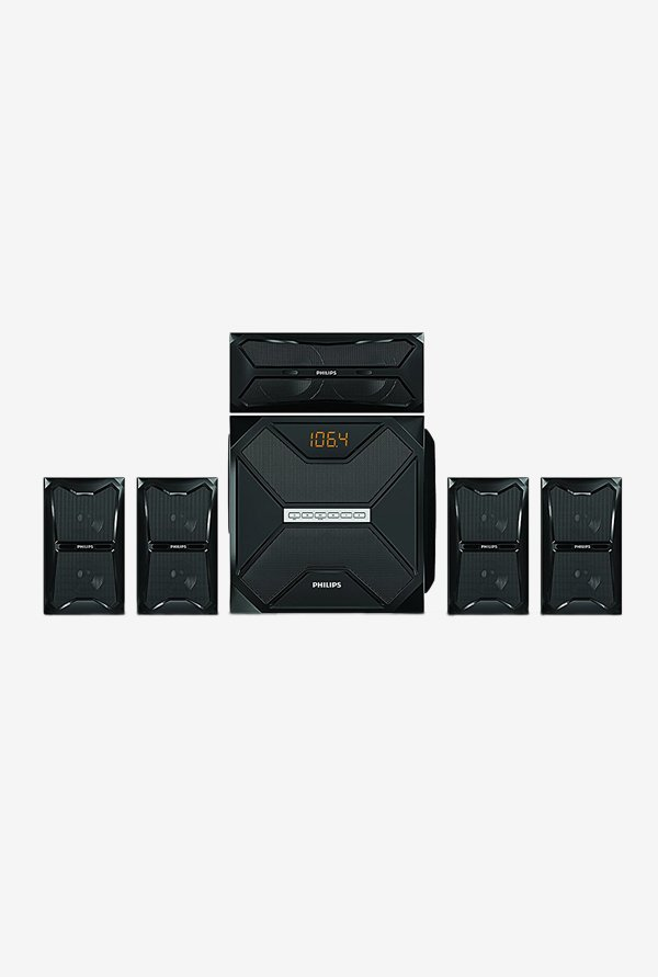 Philips SPA5250B 150 W 5.1 Channel Multimedia Speaker(Black)