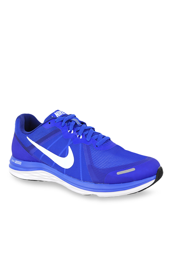 Buy Nike Dual Fusion Blue Running Shoes for Men at Best Price ... 59d487389