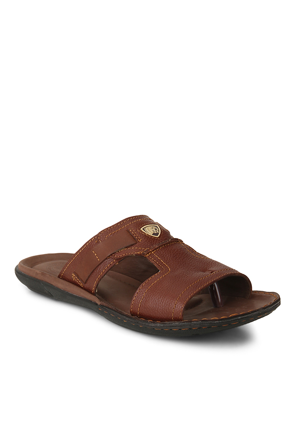 Red Chief Dark Tan Casual Sandals