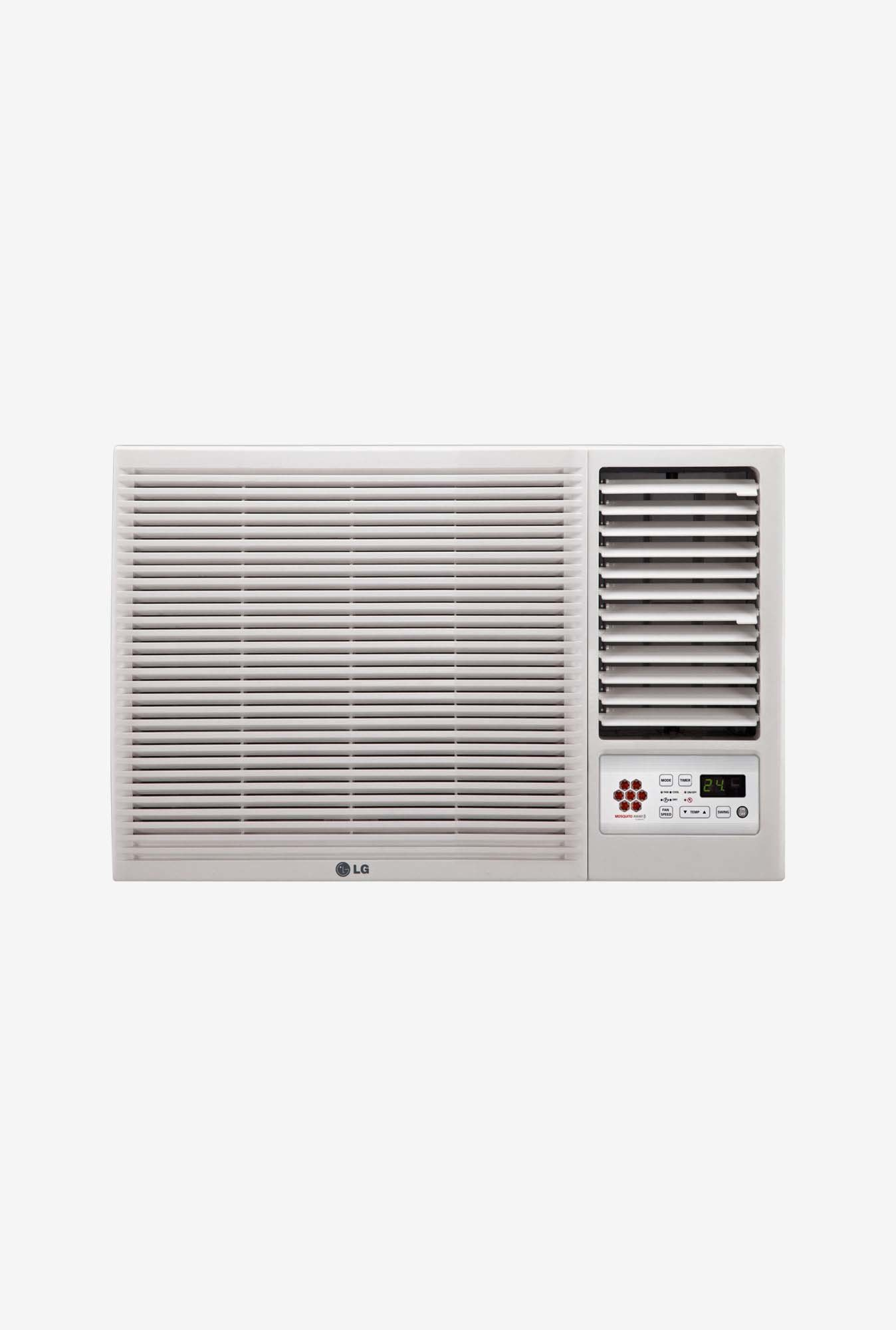 Buy lg lwa5ct3a 1 5 ton 3 star window ac white online at for 5 star windows