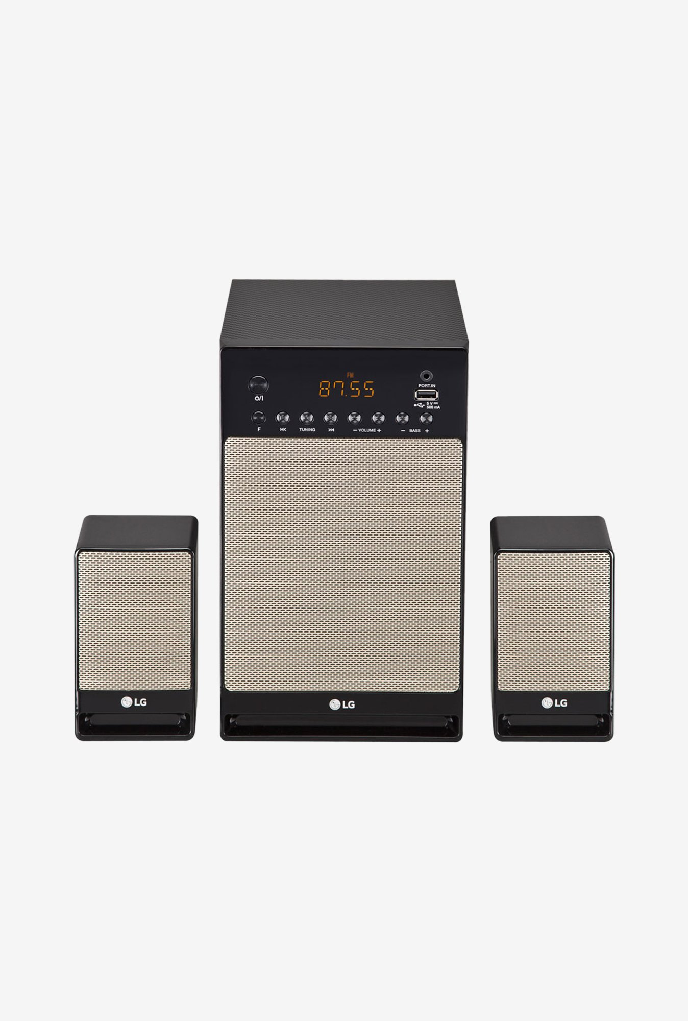 LG Boom Blast LH62G 2.1 Bluetooth Speaker System (Gold)