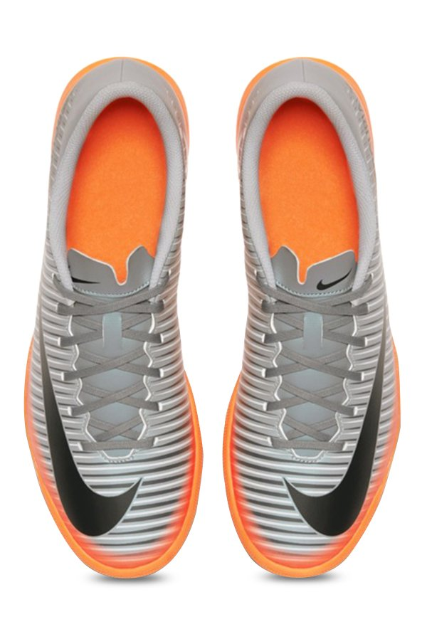 Nike Mercurialx Vortex III CR7 IC Grey Training Shoes