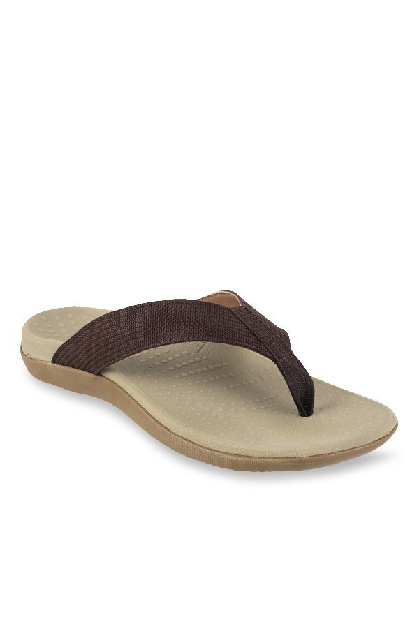Bio-Foot by Metro Brown & Grey Flip Flops