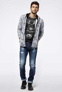 Killer Grey Melange Sweatshirt