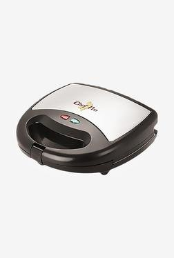 Chef Pro CPS822 2 Slice 750W Sandwich Maker & Grill (Black)