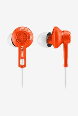 Philips ActionFit SHQ2300OR/00 In The Ear Headphone (Orange)