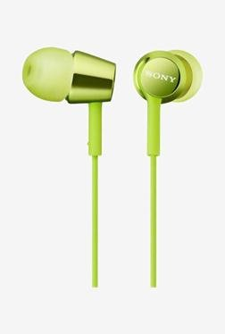 SONY MDR-EX150/G In the Ear Headphone (Green)