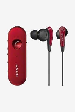 SONY MDR-EX31BN/R In the Ear Headphone (Red)