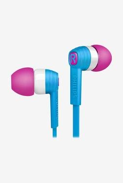 Philips CitiScape SHE7050BL/00 In The Ear Headphone (Blue)