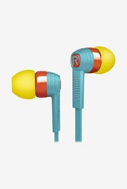 Philips CitiScape SHE7055BR/00 Headphone (Yellow & Blue)