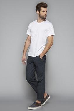 Westsport Mens White Cotton T Shirt