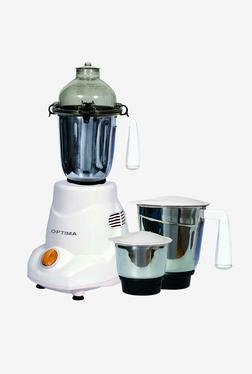 Optima MG-600 600W Mixer Grinder (White)