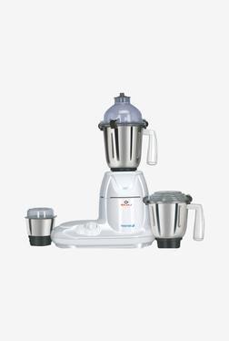 Bajaj Twister 750W 3 Jars Mixer Grinder (White)