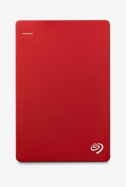 Seagate Backup Plus 2 TB Hard Disk (Red)