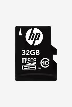 HP HP-MSDCWA-32GB Class 10 Memory Card (Black)