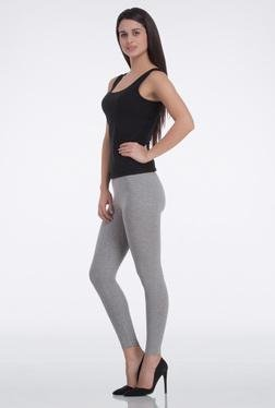 FEMELLA Light Grey Skinny Fit Cotton Leggings