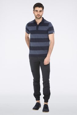 Basics Navy Polo T-Shirt - Mp000000000026326