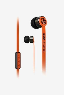 Sudio Klang In the Ear Headphone (Orange)