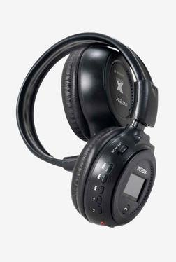 Intex Jogger Over-Ear Bluetooth Headphone (Black)