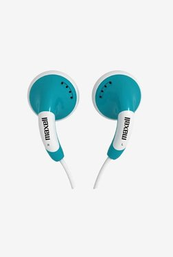 Maxell Color Budx with Mic In the Ear Headphone Blue