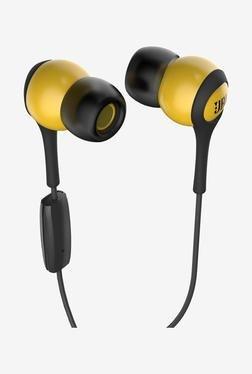 JBL T200A In-ear Headphones (Yellow & Grey)