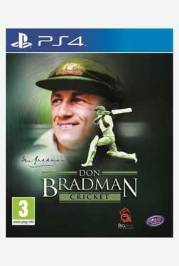 Tru Blue Entertainment Don Bradman Cricket (PS4)
