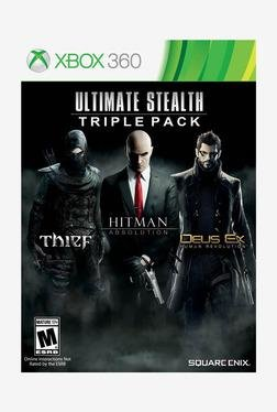 Square-Enix Ultimate Stealth Triple Pack (XBOX 360)