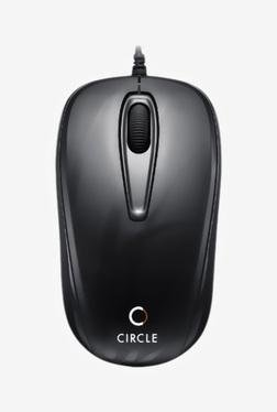 Circle CM 318 USB Optical Mouse (Black)