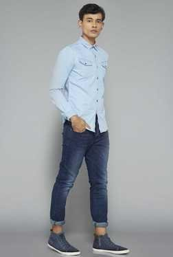 Nuon by Westside Dark Blue Slim Fit Jeans