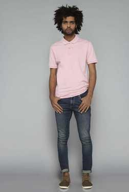 Nuon by Westside Pink Polo T Shirt