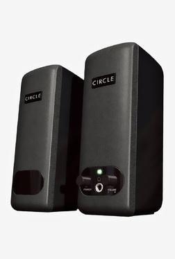 Circle Stereo Speaker (Black)