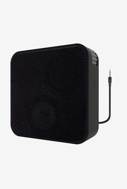 Portronics Cubix II Portable Speaker (Black)