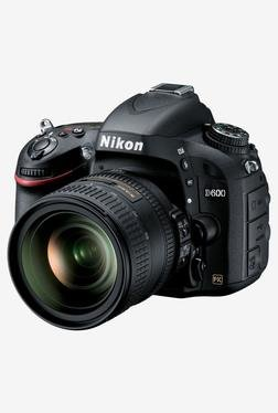 Nikon D600 With (AF-S 24-85 Mm Lens) DSLR Camera Black