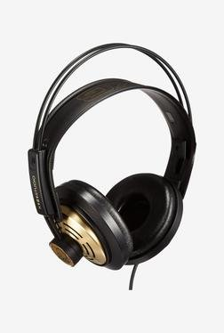 AKG K121 On The Ear Headphone (Black & Gold)