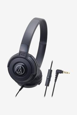 Audio-Technica Street ATH-S100is On The Ear Headphone Black
