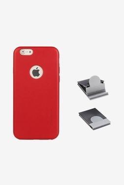 Stuffcool Back Case for Apple iPhone 6 (Red)