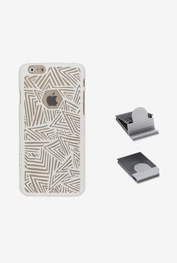 Stuffcool Back Case For Apple IPhone 6+ (White)