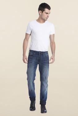 Jack & Jones Blue Raw Denim Jeans