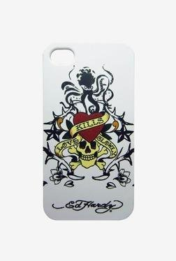 Ed Hardy  iPhone 4 Case (White)