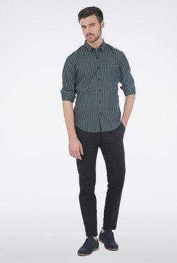 Basics Black Pencil Stripe Shirt