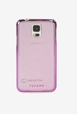 Tucano Plisse Galaxy S5 Back Case (Pink)