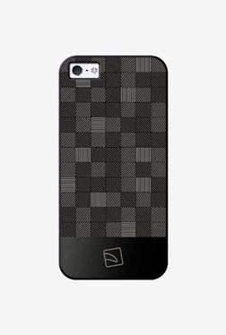Tucano Quadretti iPhone 5 Back Case (Black)