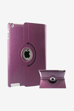 Callmate Rotation Flip Case For IPad Mini 2 (Purple)